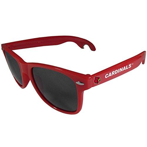 (Siskiyou NCAA Louisville Cardinals Beachfarer Bottle Opener Sunglasses, Red)