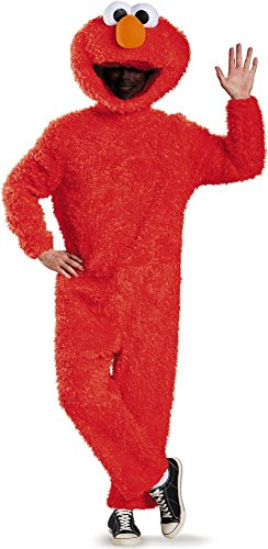Prestige Full Plush Elmo Costume - X-Large - Chest Size 42-46