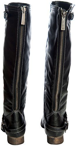 High 81 Breckelles Breckelles Black Breckelles Womens 81 Black High Knee Boot Boot Outlaw Womens Knee Outlaw Womens UFy67q