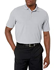 GREG NORMAN Men's Protek Micro Pique Solid Polo