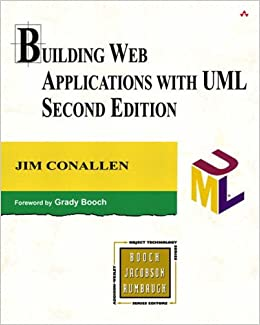 Book Building Web Applications with UML (2nd Edition) (Addison-Wesley Object-Technology Series)