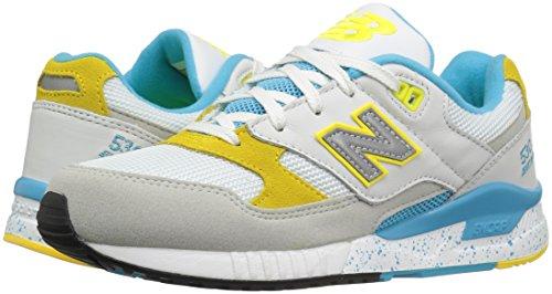 Donna Da weiß white Bianco New yellow Scarpe Nbw530psb blue Ginnastica Balance 0wqXt