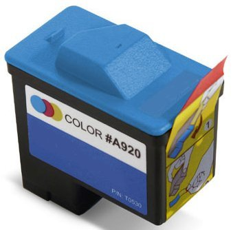 Remanufactured (Series 1) DELL T0530 Color Ink Cartridge for Dell A920 All-In-One and 720 Printers ()