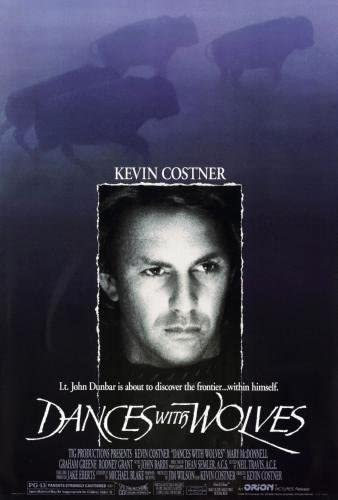 Dances With Wolves Movie Poster 24in x 36in