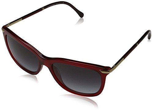 Burberry Sunglasses BE4185 34958G Bordeaux Grey Gradient 57 17 145