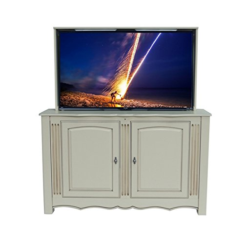 TV Lift - Fully Assembled Handcrafted Trinity TV Lift Cabinet + TV Lift Mechanism (ATL System) … (55