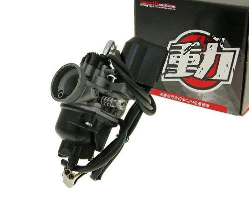 Vergaser Naraku 17,5mm E-Choke f/ür Gilera Runner 50 SP Vergaser 01-04 ZAPC36