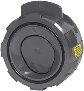 Hayward WCV1600E Series WCV Full Pattern Wafer Check Valve Without Spring, PVC with EPDM Seals, 6' Size