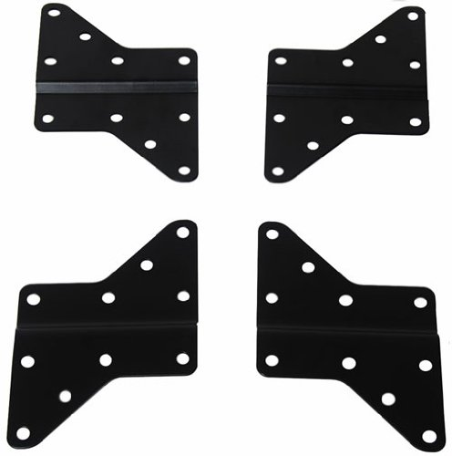 VideoSecu VESA Adapter Plate LED LCD Plasma 3D TV Wall Mount Bracket Extender, Mount Accessory MLEB 1UU ()