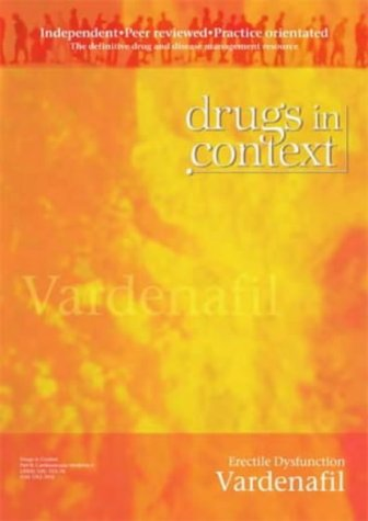 (Vardenafil: Erectile Dysfunction (Drugs in Context))