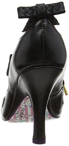 Irregular Choice Meadow Mist, Zapatos tacón Mujer Negro (Black)
