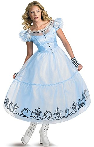 (Deluxe Alice Costume - Small - Dress Size)