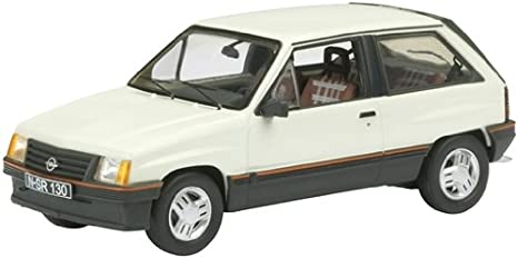 Schuco 450341400 - Opel Corsa 1.3 SR (1:43) color blanco: Amazon.es: Juguetes y juegos