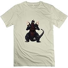 Spacegodzilla New 100% Cotton T Shirt For Men Natural S Design T Shirts
