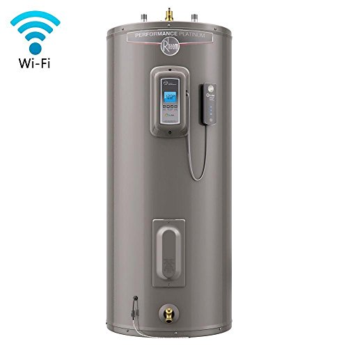 Performance Platinum 50 Gal. Tall 12 Year 5500/5500-Watt Elements Electric Water Heater with LCD Touch Control Display