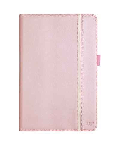 FYY Galaxy Tab A 10.1 Case - Premium Leather Case Stand Cover with Card Slots and Quality Hand Strap for Galaxy Tab A 10.1