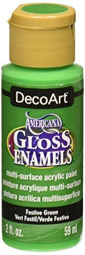 DecoArt DAG230-30 Gloss Enamel Paint, Green