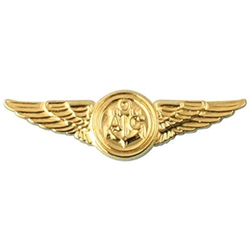 Gold United States Air (US Navy Aircrew Lapel Pin)