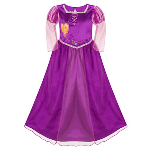 Disney Store Deluxe Tangled Rapunzel Princess Nightgown - XXS [ 2 / 3 ] - Crocheted Xxs