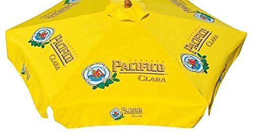 PACIFICO CLARA BEER PATIO UMBRELLA MARKET STYLE NEW For Sale