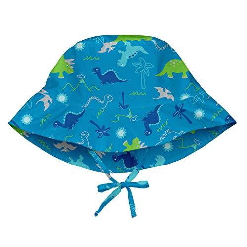 i play. Baby Boys Bucket Sun Protection Hat Aqua Dinosaurs 9-18mo, 9/18mo