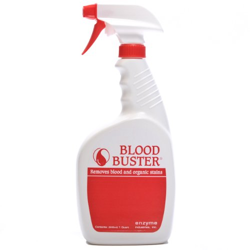 Blood Buster Blood & Stain Remover Spray Quart by BLOOD BUSTER