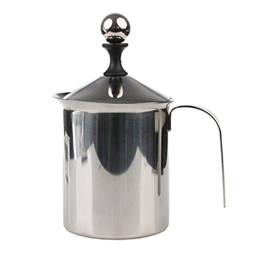 Kangnice Double Frother Stainless Creamer
