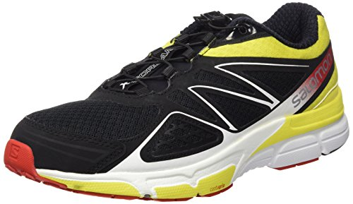 Homme 43 Corona 3 Entrainement Negro Salomon Black Chaussures Radiant 3D EU Running Noir de Red Yellow Scream X qfAwqz0