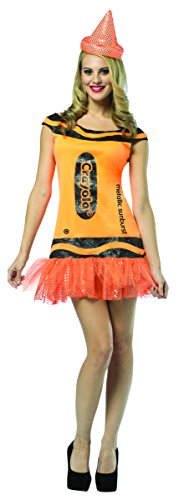 Rasta Imposta Crayola Glitz And Glitter Tank Dress, Metallic Sunburst, Adult 4-10