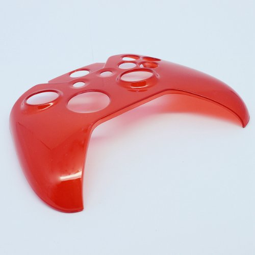 O'plaza® Translucent Hard Cover Skin Case Compatible with Microsoft Xbox One Controller, Red
