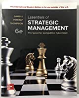Essentials of Strategic Management, 6th Edition Front Cover