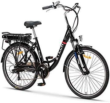 Bicicleta eléctrica ZT-34 Verona 25 km/h, Bicicleta de Ciudad ...