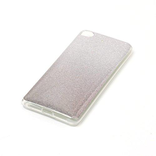 SRY-Caso sencillo Para la cubierta de Xiaomi 5s, caja suave del teléfono de la contraportada del gradiente Protección reforzada ( Color : A ) A