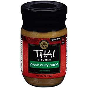 Thai Kitchen Green Curry Paste, 4-Ounce (Pack of 6)