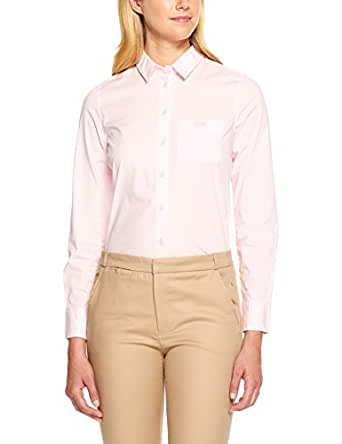 Lacoste Women's Basic Ls Slim Fit Shirt W Pocket, Flamingo,34F (Standard)