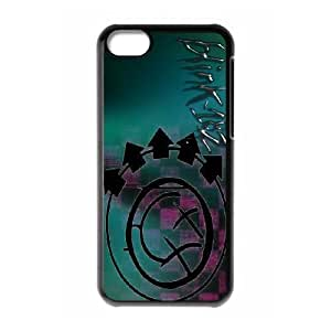 Custom High Quality WUCHAOGUI Phone case Blink 182 Pattern Protective Case For Iphone 5c - Case-3