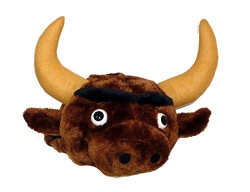 [27242 Plush Bull Hat] (Parrot Head Hat)