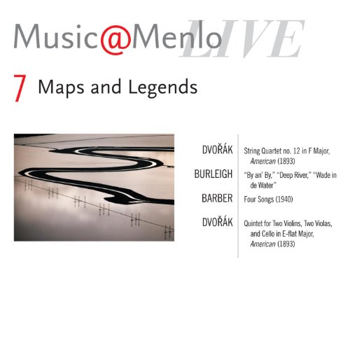 Maps And Legends Disc VII: Dvořák: String Quartet No 12; Burleigh: By An' By, Deep River, Wade In De Water; Barber: Four Songs, Op 13; Dvořák: Quintet For Two Violins, Two Violas & Cello In E - Flat ()