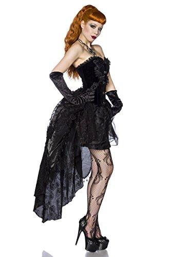 Style teilig Schwarz Kleid Gothik 2 Bustier EnxFqRgw