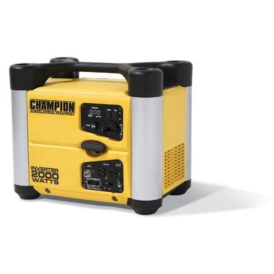 1600/2000 Watt Inverter Generator in Yellow Champion Power Equipment