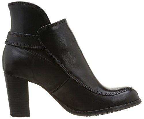 Kickers Medock - Botas de cuero mujer negro - Noir (81 Noir Pf)
