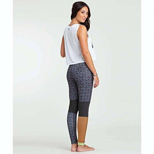 Billabong Women's Skinny Sea Legs Surf Pant, Black/White, 2