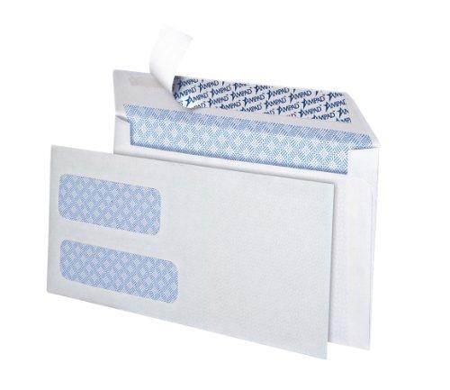 Ampad #9 Double Window Security Envelopes, White, 150 Count (Ampad Envelopes)