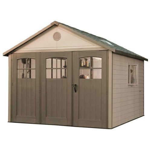 Lifetime Products 11ft Shed with 9ft Tri Fold Doors