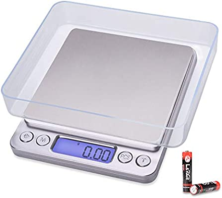 0.01g Food Scale Digital Kitchen Scale Weight Grams for Cooking Baking