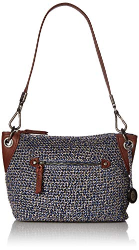 The Sak Unisex Indio Crochet Demi,  Denim Static, One Size