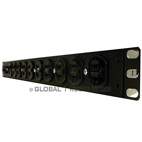 APC AP9564 S 414 120 RACK PDU,BASIC,1U,20A, 120V,(10)5-20 APC AP9564 PDU Rack Mount 20amp Server Rack Basic Powerstrip 120v L5