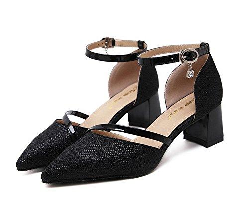 Mmsg00332 5 Noir 1to9 Sandales Compensées Femme 38 Inconnu Eu x6Svww