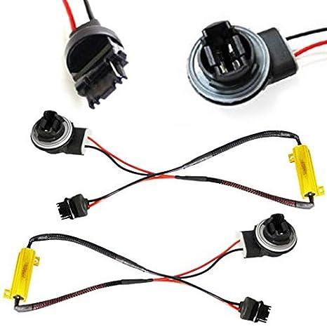 Amazon.com: iJDMTOY - 2 adaptadores de cableado para ...