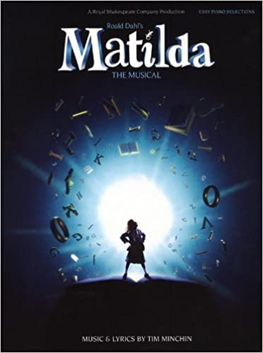 Book Matilda the Musical Easy Piano Book by Tim Minchin (2013)